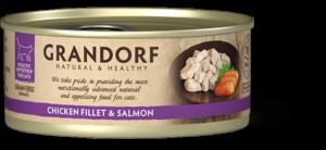Filet de Poulet et Filet de Saumon
