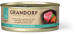 Filet de Thon & Filet de Saumon