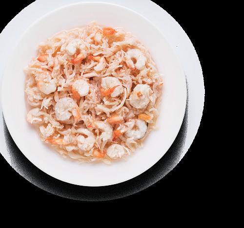 Chicken fillet & Shrimps